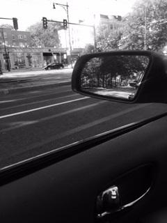 Mirror Street b&w